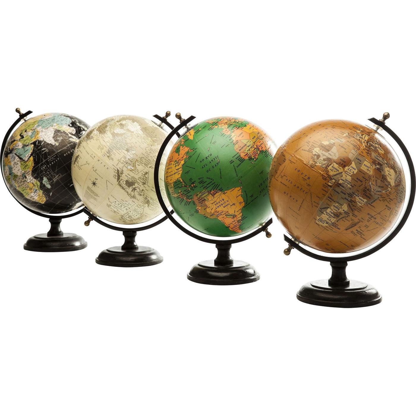 Dekorativni Globus Vintage Assorted Kare Design