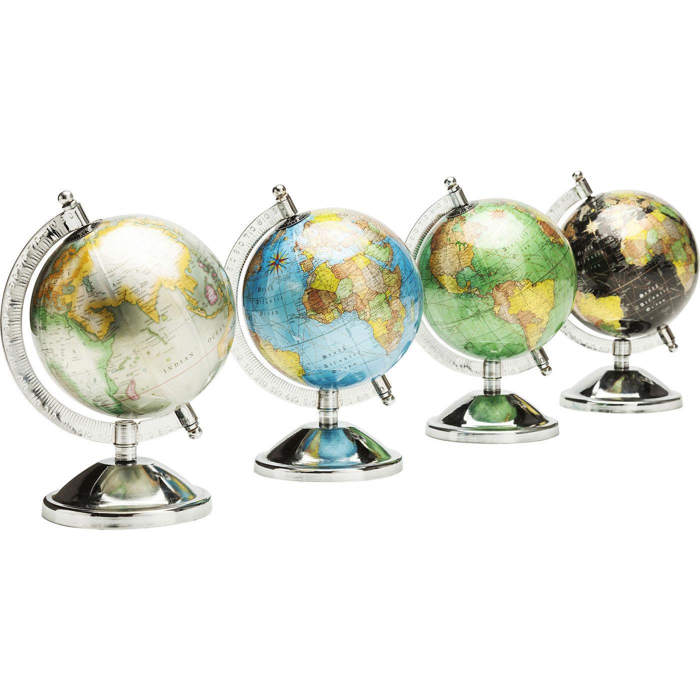 Dekorativni Globus Glister Maly Vice Variant Kare Design
