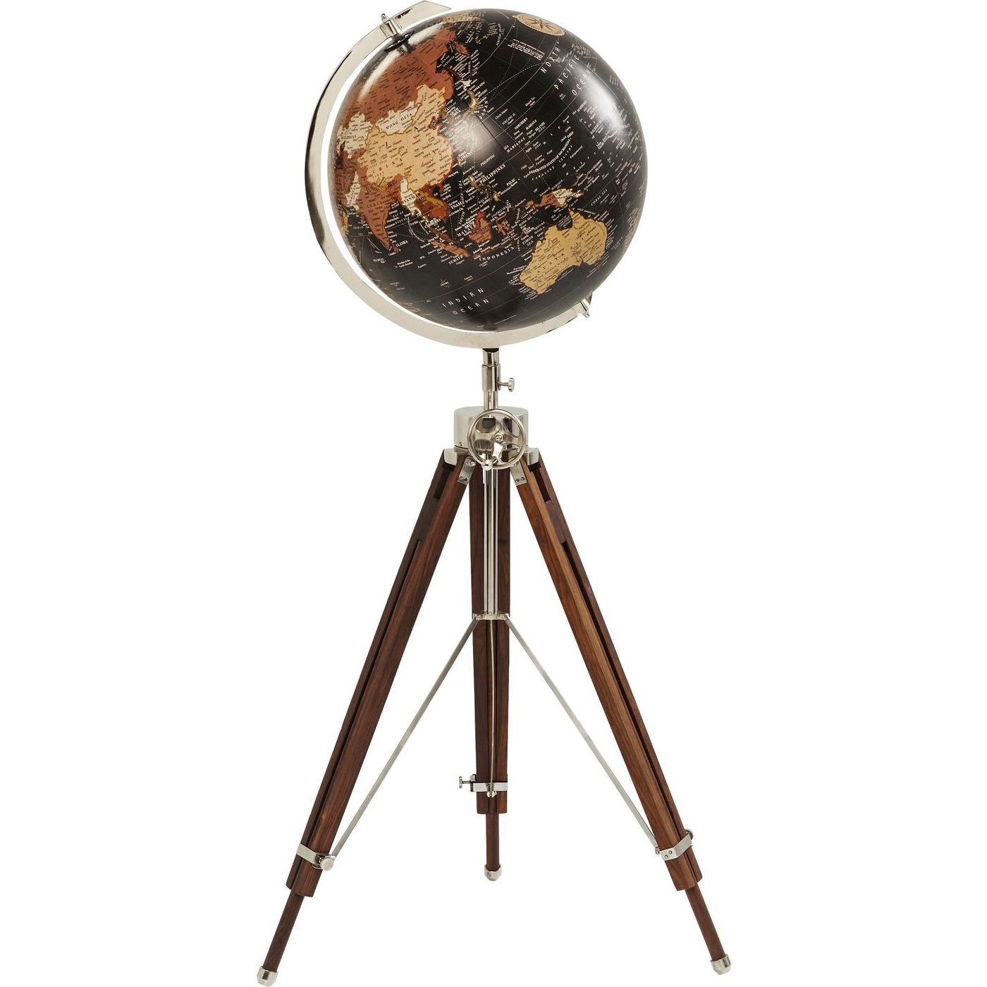 Dekorativni Globus Earth Cerny Kare Design